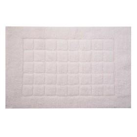 Tapete de Baño FREEHOME 50 x 80 Cuadros Blanco
