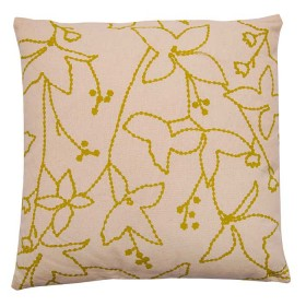 Cojín FREEHOME 40 x 40 Floral Natural contornos