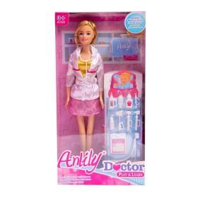 ANLILY Juguete Muñeca Doctora con accesorios