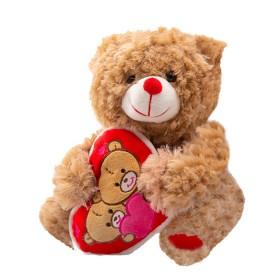 "Peluche Oso Corazón San Valentín 10"""