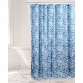 Cortina de Baño FREEHOME Mosaico 180 x 180 cm Azul