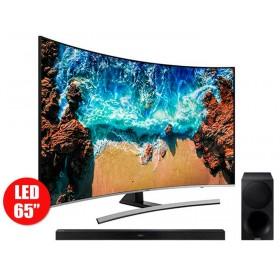 """Tv 65"""" SAMSUNG 65NU8500 4K UHD + Barra de Sonido M450"""