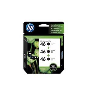 Cartucho HP 46 Black  3 Pack