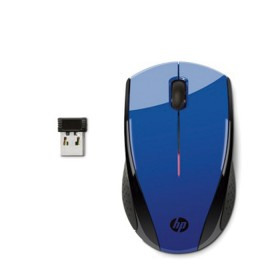Mouse X3000 HP Inalambrico Laser Azul