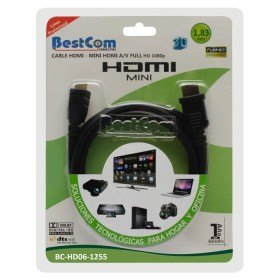 Cable HDMI MINI HDMI BESTCOM Video/Audio full hd 1.83 MT