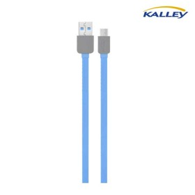Cable USB/Micro USB Kalley Azul 1 Metro