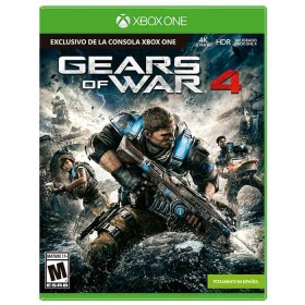 Videojuego XBOX ONE X Gears of war 4 - 4K
