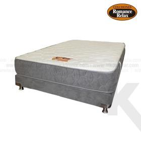 Kombo base cama  + colchon de espuma Opalo semidoble 120x190x18 cms