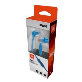 Audífonos JBL Alambrico InEar ML T110 Azul