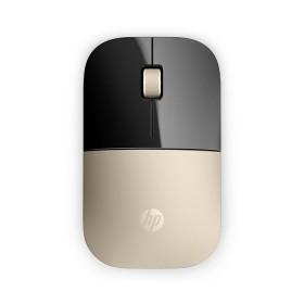 Mouse HP Inalámbrico Z3700 Dorado