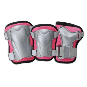 L.A. SPORTS Set de Protección Medium Rosado
