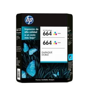 Cartucho de tinta HP 664 Tricolor Dual Pack