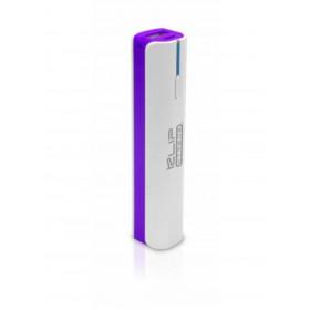 Batería Recargable KLIP XTREME 2.600mAh Linterna Púrpura