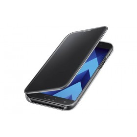 SAMSUNG Clear View Cover A5 2017 Negro