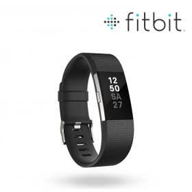 FITBIT Charge 2 Black-Sliver S