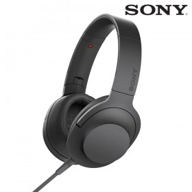 Audífonos SONY de diadema MDR-100AAP negros con audio de alta resolución