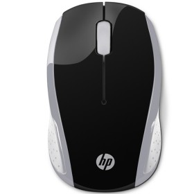 Mouse HP Inalambrico Optico 200 Negro / Plata