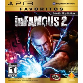 Videojuego PS3 Infamous 2