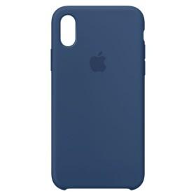Iphone Case X Silicone Azul
