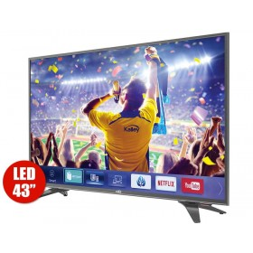 "TV 43""109cm KALLEY K43 4K-UHD Internet T2"