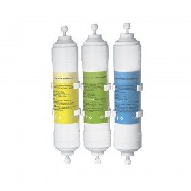 Set de filtros para dispensador KALLEY modelo K-WDLL15