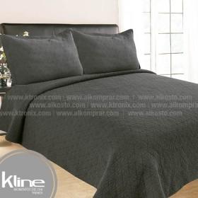 Cubrecama K-LINE Queen Lavare Gris