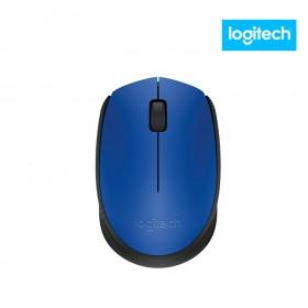 Mouse LOGITECH Óptico Inalámbrico M170 Azul