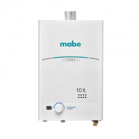 Calentador MABE de Tiro Forzado 10L CMD10TFBC Blanco