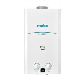 Calentador de Paso MABE 12Lt Tiro Natural CMP12TNB Blanco1