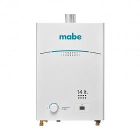 Calentador de Paso MABE de Tiro Forzado 14L CMD14TFBC Blanco 1