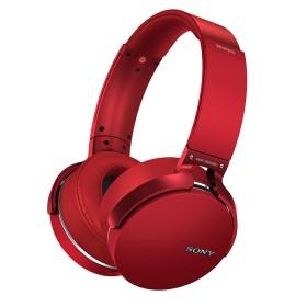 Audífonos OnEar Inalámbrico SONY BTXB950 Rojo