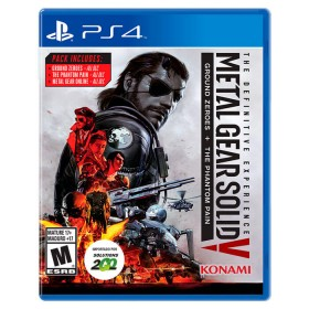 Videojuego PS4 Metal Gear Soild V: Definitive Experience