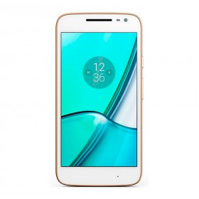 Celular MOTOROLA Moto G4 Play DS 4G Blanco y Dorado