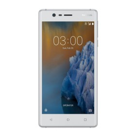 Celular Libre NOKIA 3 DS 4G Blanco Plata