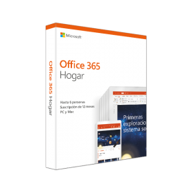 Office 365 Hogar - Software para PC y Mac 6 Usuarios Online