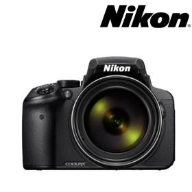 Cámara NIKON P900 Semiprofesional + Estuche + Memoria 8GB Negra