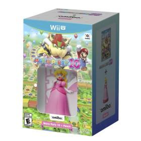 Kombo videojuego WiiU Mario Party 10 + Peach AMIIBO