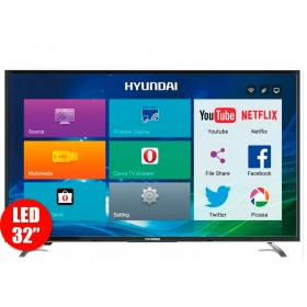 "Tv 32"" 80cm HYUNDAI LED 3211 HD Internet"