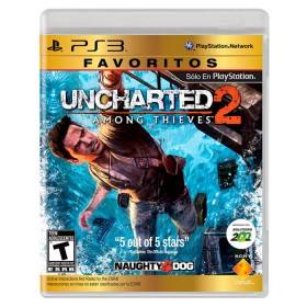 Videojuego PS3 Uncharted 2 Among Thieves