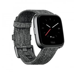 FITBIT Versa Smartwatch Special Edition Charcoal Woven