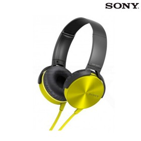 Audífonos SONY Overhead MDR-XB450AP Amarillo