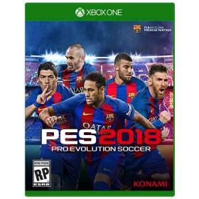 Videojuego XBOX ONE Pro Evolution Soccer 2018