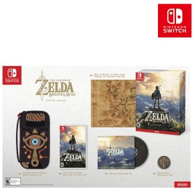 Videojuego Switch Legend of Zelda: Breath of the Wild Edición Limitada