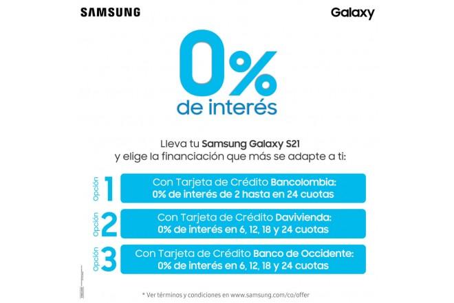 Combo Celular SAMSUNG Galaxy S21 Plus 256GB Morado + Galaxy Smart TAG-3