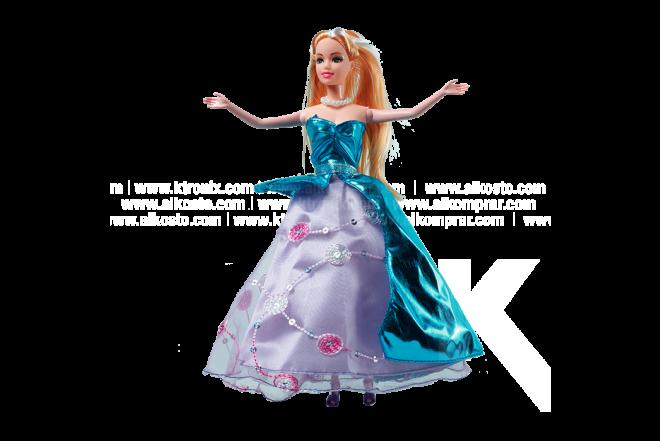 Muñeca Princesa Koler Noble Girl