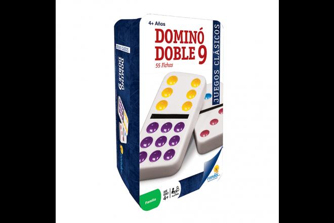 RONDA Domino Lata Doble 9
