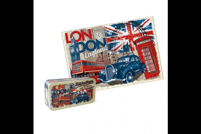 RONDA Rompecabezas X 1000 Pzas Lata Time To Travel London