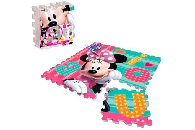 RONDA Tapete Magico Minnie Happy Helpers