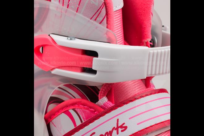 Patines En Línea Para Niña L.A. Sports Pink 10172