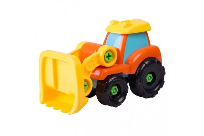 KEENWAY  vehículo de construcción Bulldozer Build & play